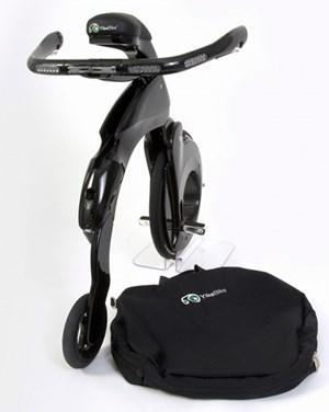 Das YikeBike hat eine Reichweite von 10 Kilometer und wird zwischen 3500 und 3900 Euro kosten.