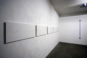 Ein ganzer Tag in seine 86.400 Sekunden zerlegt: die Installation within a second im Kunstraum dreizehnzwei.