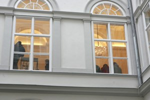 Hahns Kabinettchef Elmar Pichl diskutierte mit den Studierenden.