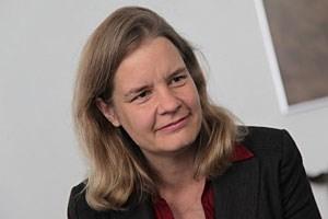 """""""Ich denke nicht, dass die Kernenergie in Zukunft eine wichtige Rolle spielen wird"""", so Miranda Schreurs."""