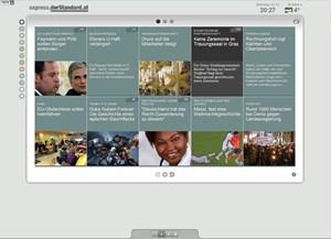 Das Interface für schnelle News: express.derStandard.at