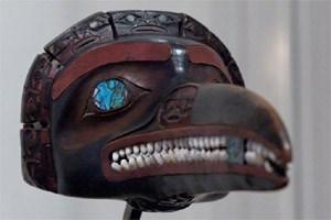 Zeremonialmaske der Tsimishian.