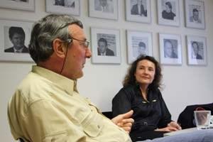 Gynäkologin Dr. Bibiana Kalmar und Frauenarzt Dr. Volker Korbei stellten sich den Fragen der dieStandard.at-Redakteurinnen.