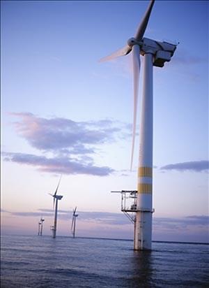 Bis zum Jahr 2012 will GE fünf Windräder mit einer Gesamtleistung von 20 Megawatt installieren.