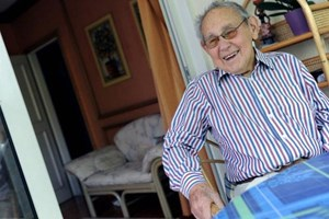 """Otto Tausig:  """"Die Welt, die Wirtschaft kann ich nicht verändern, drum versuche ich, das Leben Einzelner zu verändern."""""""