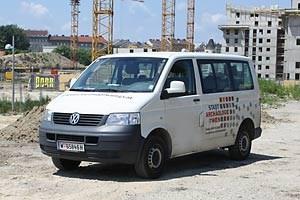 Der Bus der Stadtarchäologie rückt an, wenn auf der Fläche noch nicht gebaut wird