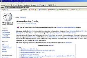 """""""Wikipedia ist ein Lexikon, kein Geschichtswerk"""", sagt Peter Haber zu Bedenken von Historikern."""