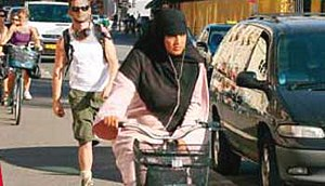 """Das Programm """"Integration in Action"""" in der Fahrrad-Metropole Kopenhagen hilft Frauen mit Migrationshintergrund mit  Fahrradfahr-Kursen Teil der dänischen Kultur zu werde."""