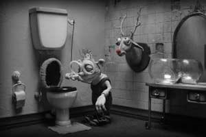 """Hier wurde eindeutig nicht an der Ausstattung gespart: Adam Elliots charmante, generationenübergreifende Animationstragikomödie """"Mary &Max - oder: Schrumpfen Schafe, wenn es regnet""""."""