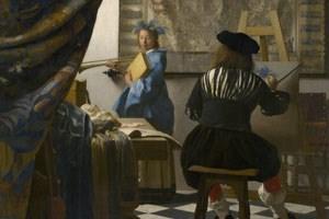 """Gehörte einst Jaromir Czernin: """"Die Malkunst"""" von Jan Vermeer."""