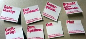 """""""Grenzgenial"""" oder """"braucht kein Mensch"""": Postings polarisieren"""