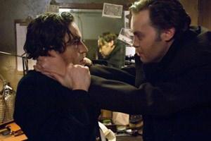 Maßnahme gegen Lampenfieber: Orson Welles (Christian McKay) und sein Theaterstar (Ben Chaplin).