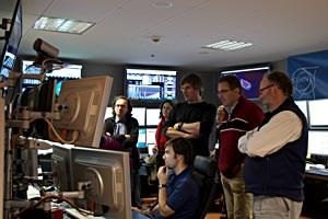 Die Cern-Wissenschafter warten ungeduldig auf die ersten Ergebnisse nach den Kollisionen.