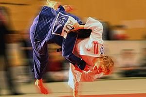 Als Ausgleich zum Judo macht Sabrina Filzmoser ebenfalls Sport: in der freien Natur (Bergsteigen, Skitouren, Mountainbiken)