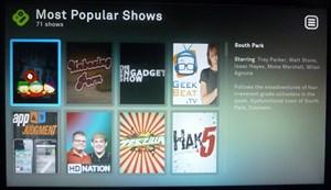 Die von Haus aus eingerichteten Online-Shows haben einen sehr starken Technik-Fokus.