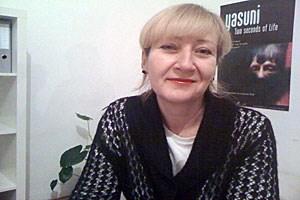 """Startet eine Crowdfunding-Aktion für den Film """"Yasuni"""": Christa Auderlitzky."""