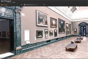 Google startet Indoo-Street-View für 17 internationale Museen. (Im Bild: die Tate Gallery in London)