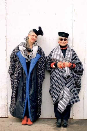 Alt genug für jeden Stil: Die coolen Senioren von New York.