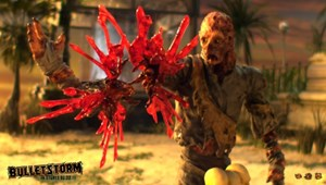 """Szene aus dem Werbevideo zu """"Bulletstorm"""""""