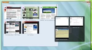 Nur reichlich versteckt ist der vor einigen Monaten noch groß angekündigte Panorama-Modus beim Firefox 4 mit dabei.