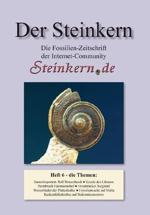 """Die sechste Ausgabe des Magazins """"Der Steinkern"""" ist Mitte März erschienen und kann über das Bestellformular der Webseite angefordert werden."""