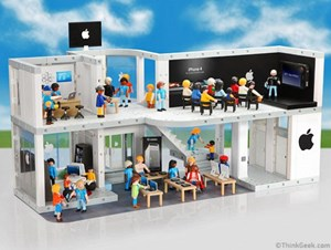 Playmobil Apple Store von ThinkGeek
