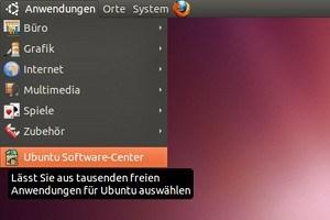 """Der """"klassische"""" GNOME-Desktop mit seinem Startmenü gibt in Ubuntu 11.04 noch einen letzten Auftritt, soll aber danach entfernt werden."""