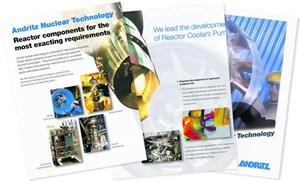 Hohe Qualität und Sicherheit seien die Markenzeichen ihrer Nukleartechnik, wirbt Andritz.