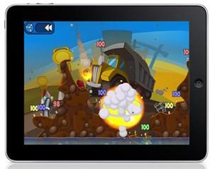 """Auch so manches typisches PC- und Konsolen-Game wie """"Worms"""" macht als """"Brettspiel"""" eine gute Figur."""