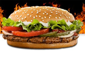 Burger King Deutschland startet Social Media Offensive.