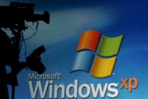 Countdown für Windows XP eingerichtet.