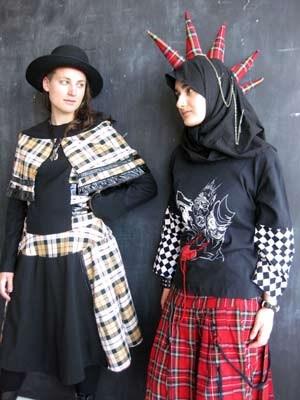 Mode für Taqwacore-Anhängerinnen