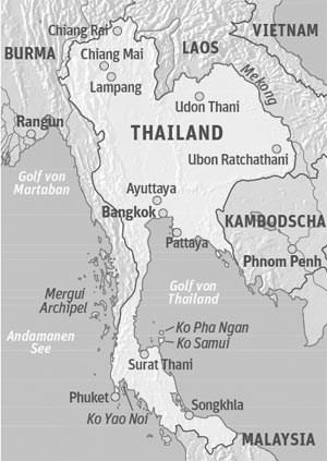 Anreise & UnterkunftDie taiwanesische Eva Air fliegt fünfmal wöchentlich von Wien nach Bangkok.