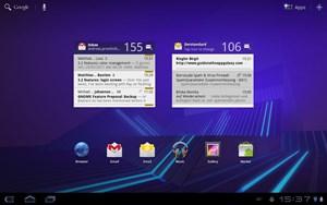 Als Software verwendet das Galaxy Tab 10.1 derzeit Android 3.0.1, dies weitgehend unmodifiziert. Später will Samsung hier die eigenen Touchwiz-Oberfläche nachliefern.