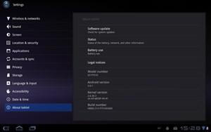 Vor dem Marktstart soll das Galaxy Tab 10.1 noch auf Android 3.1 aktualisiert werden.