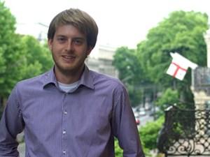 Mathias Huter lebt seit eineinhalb Jahren in Tiflis und beobachtet beruflich die Entwicklung seines Gastlandes.