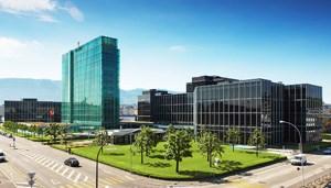 Der Rolex-Hauptsitz in Genf.