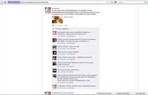 Screenshot von HC Straches Facebook-Seite und dem besagten Post. Beschuldigter S. wurde mehrere Stunden lang öffentlich angeprangert.