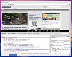 Für EntwicklerInnen bietet Chrome mittlerweile eine ganze Reihe von Tools zur Seitenanalyse und Fehlersuche.