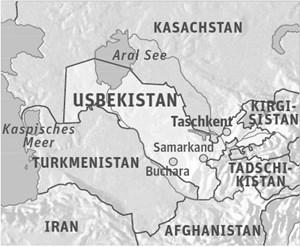 Informationen:Visa können bei der usbekischen Botschaft in Wien beantragt werden. www.usbekistan.at; Reiseinfos unter www.bmeia.gv.at; Im Text beschrieben ist ein Pilotprojekt der Austrian Development Agency ADA, die Wirtschaftspartnerschaften u. a. in Zentralasien fördert: www.entwicklung.at/wirtschaft