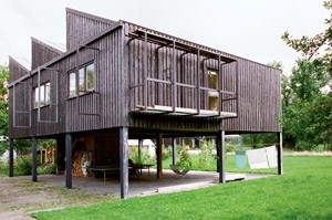 Aichers Atelierhaus in Rotis.