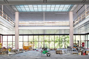 Renovierungs- und Adaptierungsarbeiten sind im Budget- und Zeitrahmen.