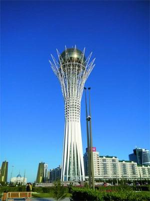 Die kasachische Hauptstadt Astana.