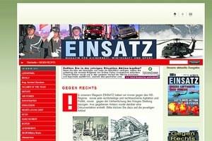 """Inhaltlich fielen Medien wie das Heeresmagazin """"Einsatz"""" nicht als einschlägig auf. Doch die Wahl seiner Mitarbeiter bringt Moser in Bedrängnis."""