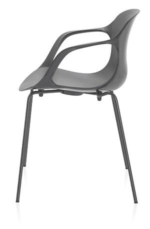 """Kasper Saltos Sessel """"Nap"""", den er für Fritz Hansen entworfen hat (erhältlich bei Bene)."""