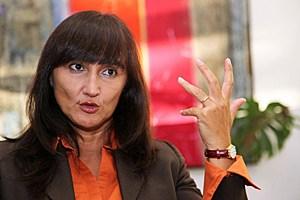 """""""Sie müssen wirklich alarmiert sein"""", sagt Laura Garavini, linke Politikerin in Italien und Anti-Mafia-Aktivistin, über die Rolle der Mafia in Österreich."""