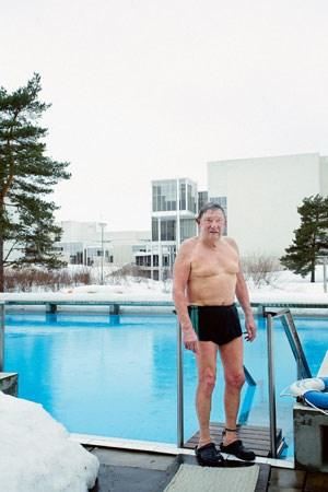 """Die Fotos entstanden für die """"Welthauptstadt des Designs 2012"""" in Helsinki und sollen laut Veranstalter die Atmosphäre herüberbringen, die typisch für die Hauptstadt Finnlands ist."""
