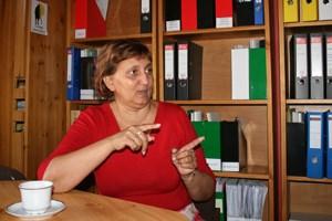Seit zwei Jahren ist Erszébet Orsós-Gidáné Direktorin des Gymnasiums.