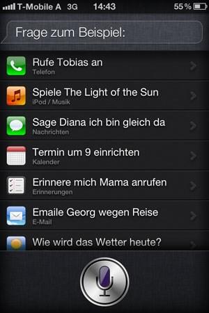 Das Befehlsrepertoire ist (vor allem auf Deutsch und in Österreich) noch recht eingeschränkt