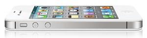 Das iPhone 4S: Äußerlich ist nur das neue Atennendesign zu erkennen